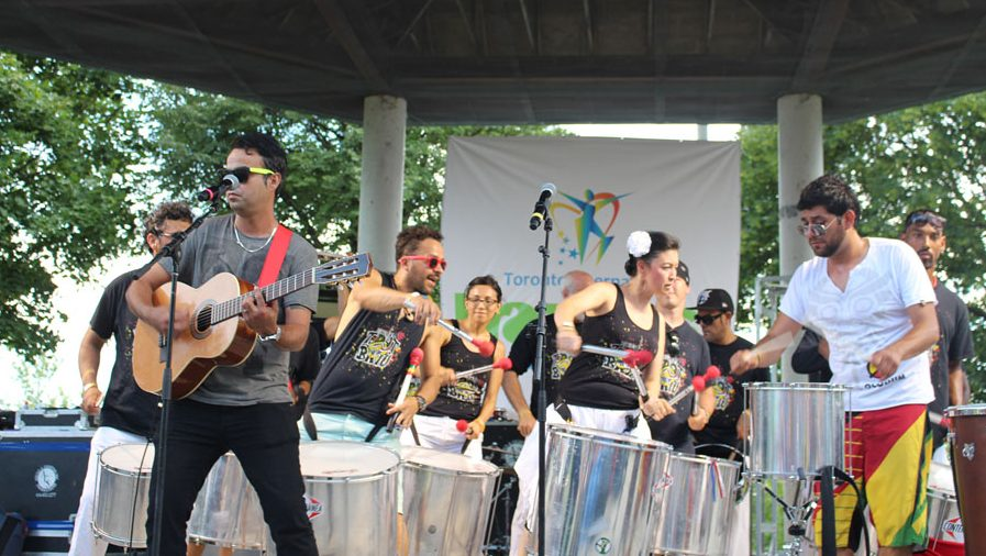 Musicians at BrazilFest in Toronto. Photo credit: brazilfest.ca