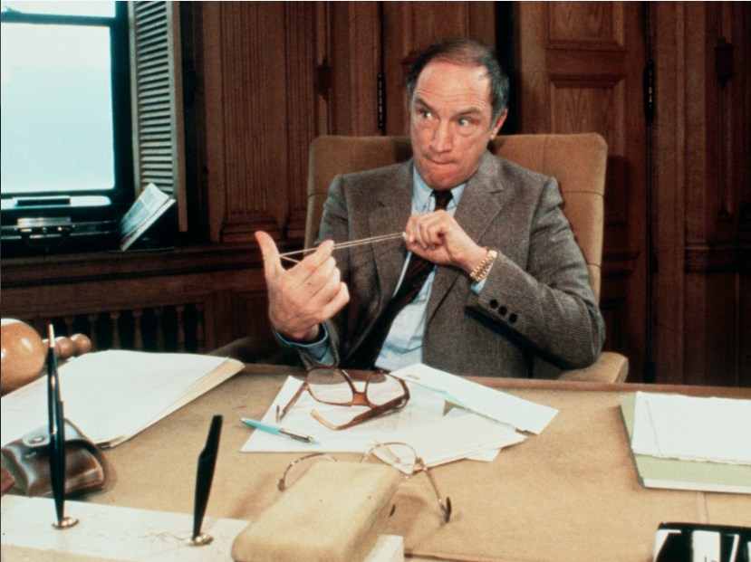 A relaxed prime minister-elect Pierre Trudeau takes time out from a busy morning of meetings in Ottawa in 1980 to toy with a rubber band. He was awaiting transfer of power from the short-lived government of Joe Clark. Boris Spremo - Courtesy of The Toronto Star.