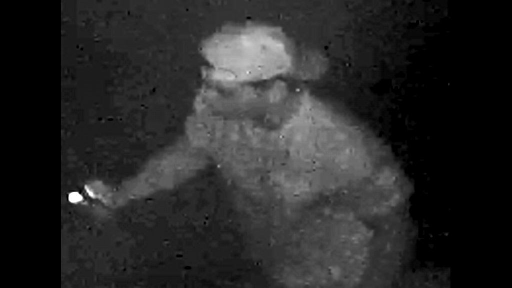 Image of suspect wanted in hateful graffiti investigation, Aug. 23, 2017. YORK REGIONAL POLICE/Handout