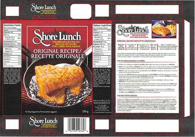 Did you purchase this fish breading mix?