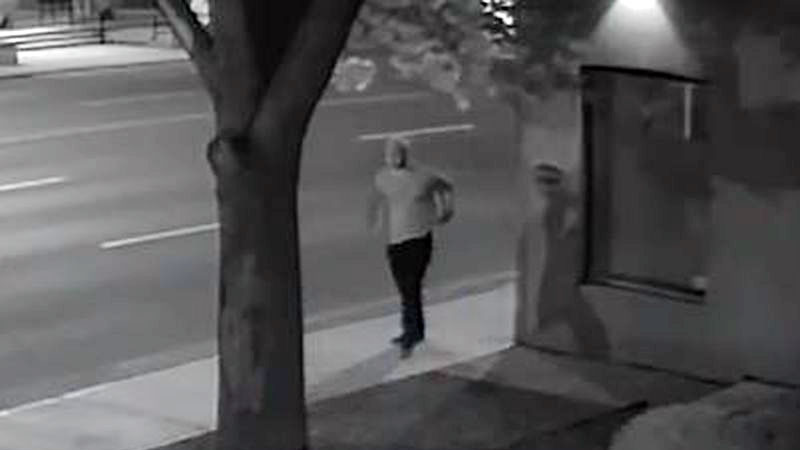 A man wanted in connection with the theft of a $9,000 crystal from a Yorkville jeweler on Aug. 12, 2017. HANDOUT/Toronto Police Service