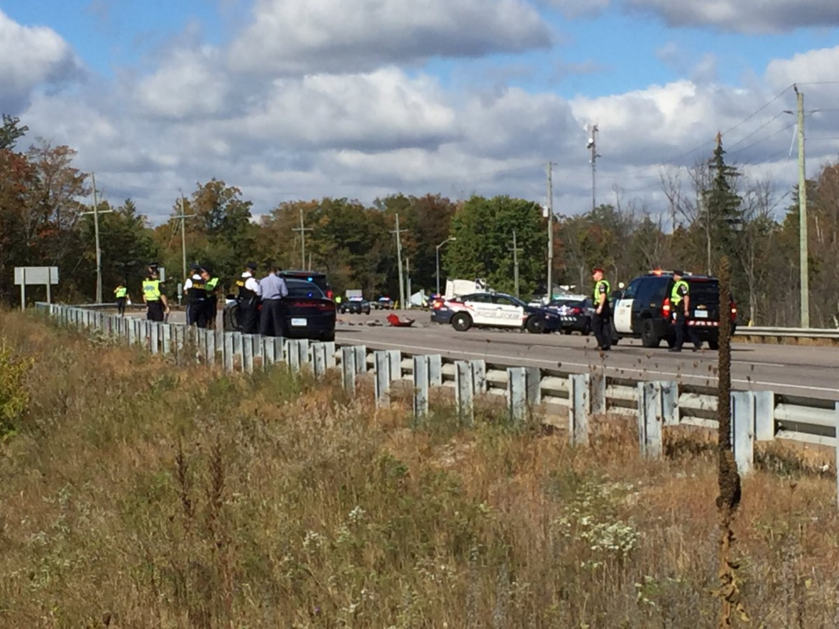 Two dead in horrific crash involving Waterloo police