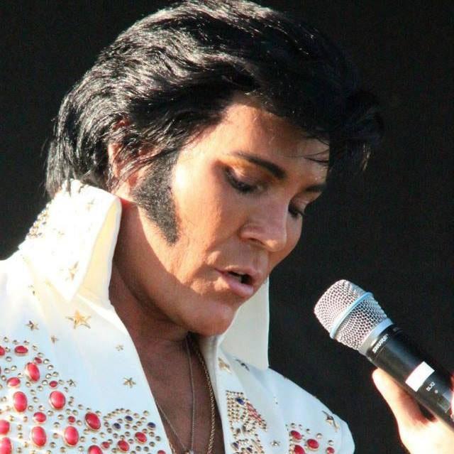 Elvis tribute artist Gordon Hendricks. Photo credit: Flaming Star Festival/Facebook