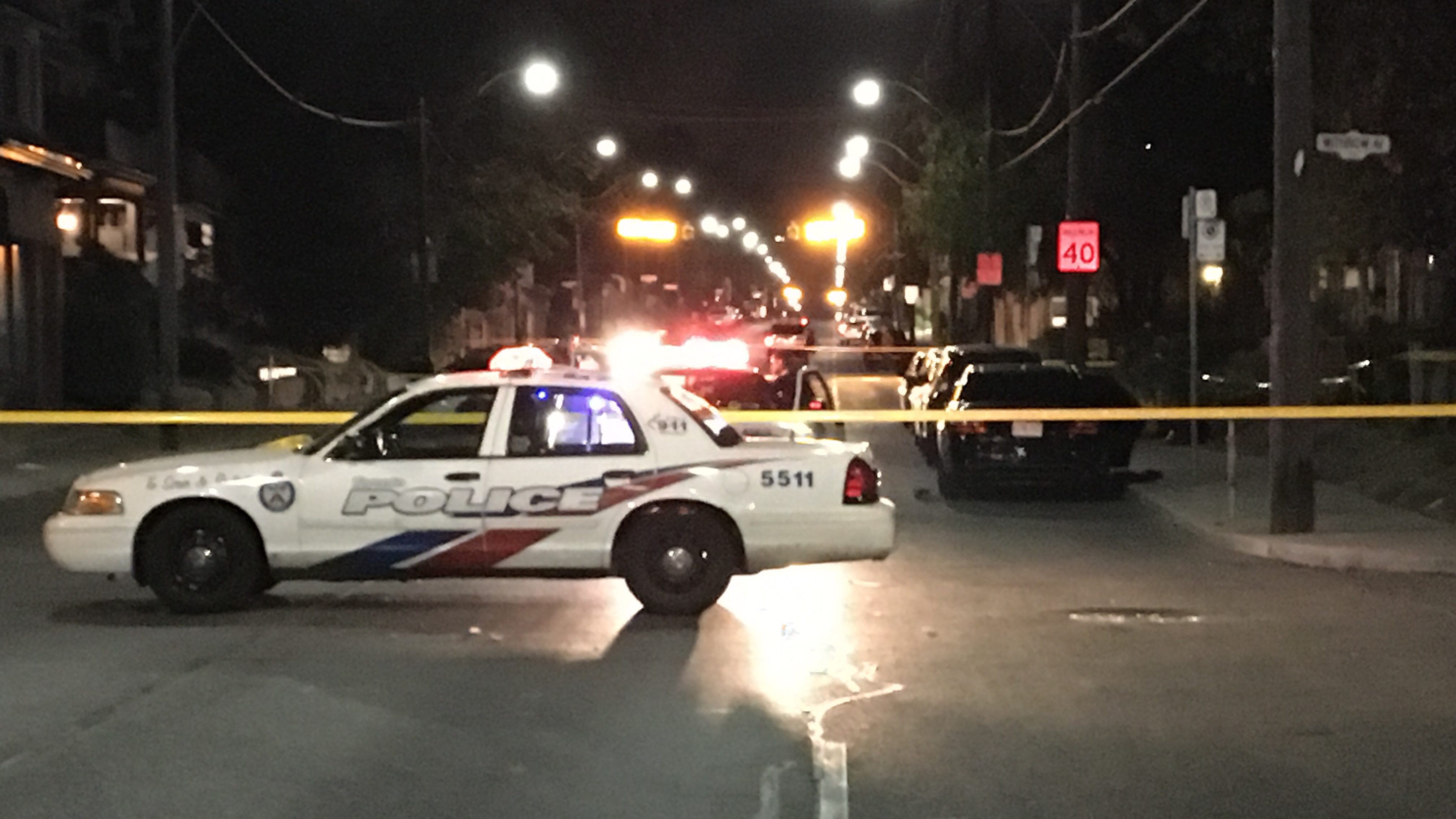 Man in life-threatening condition after shooting in Toronto's east end