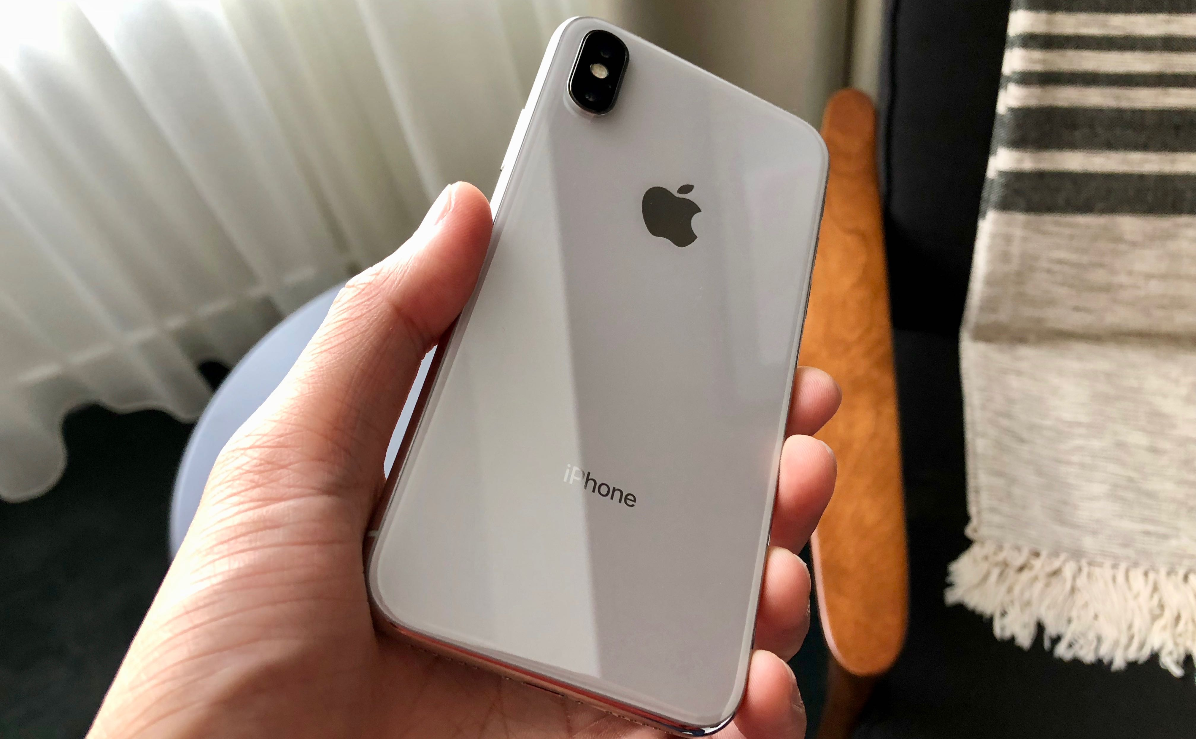 The back of the iPhone X. CITYNEWS/Winston Sih
