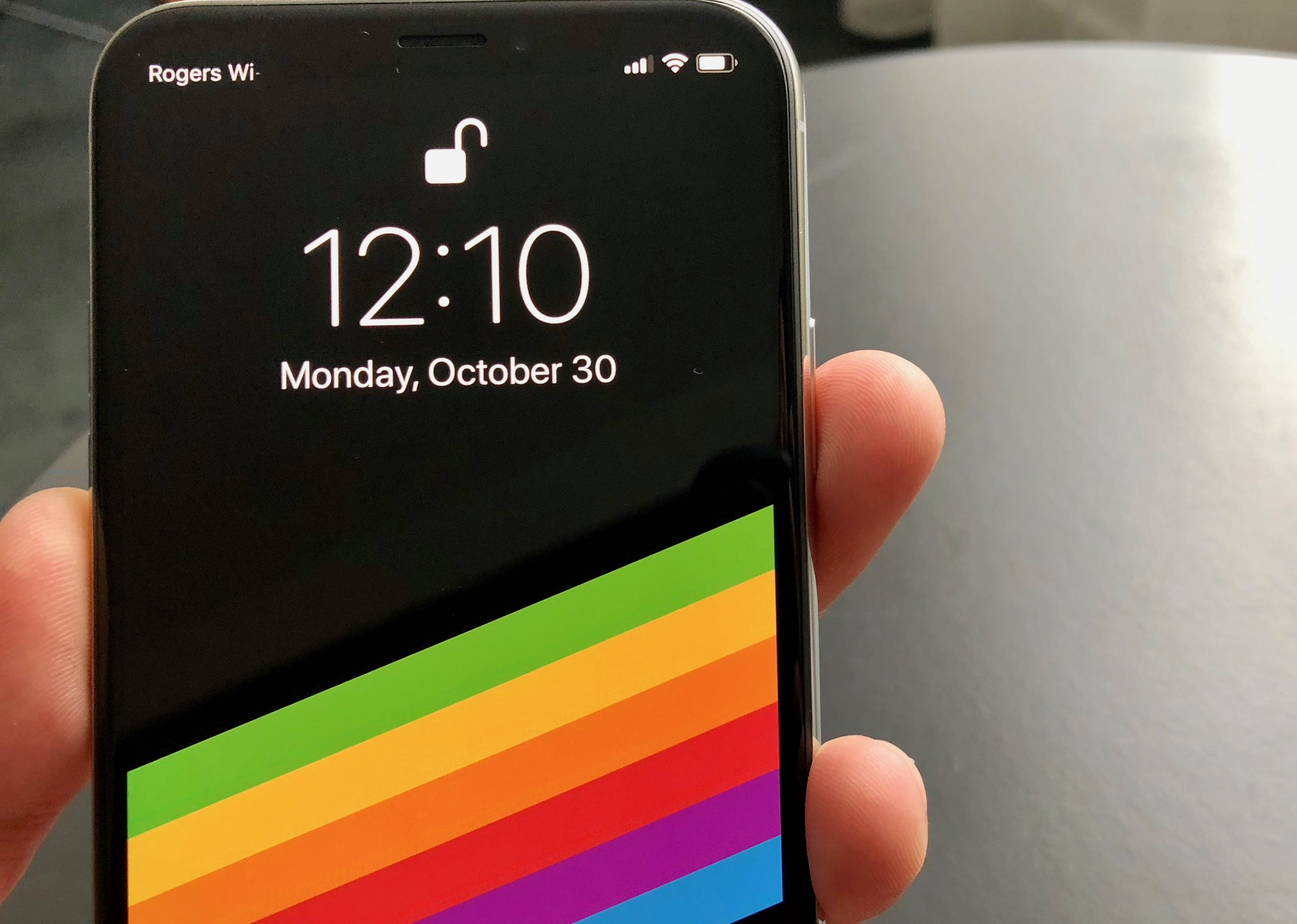 Face ID uses a new, front-facing TrueDepth camera on the iPhone X. CITYNEWS/Winston Sih