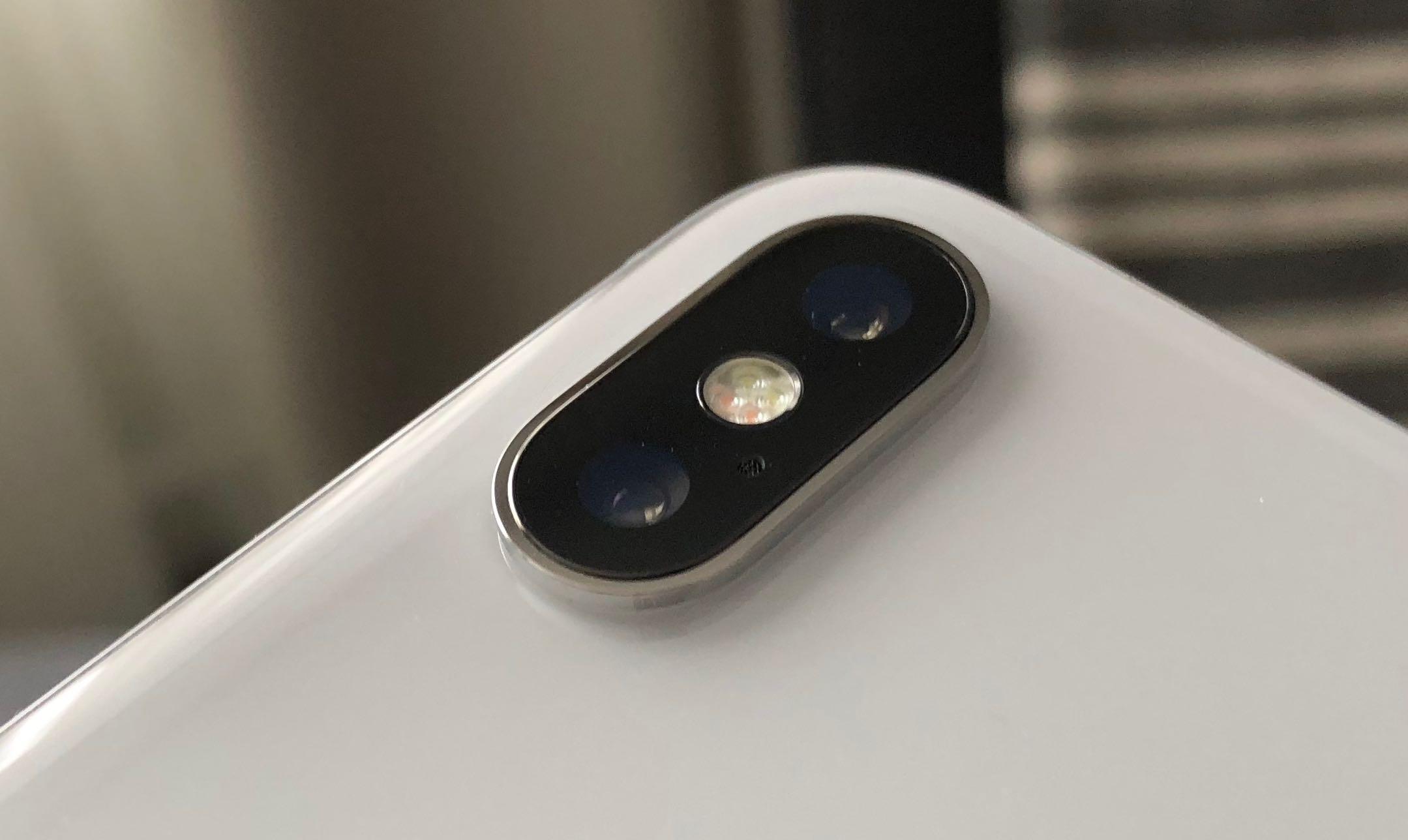 A closeup of the camera on the iPhone X. CITYNEWS/Winston Sih