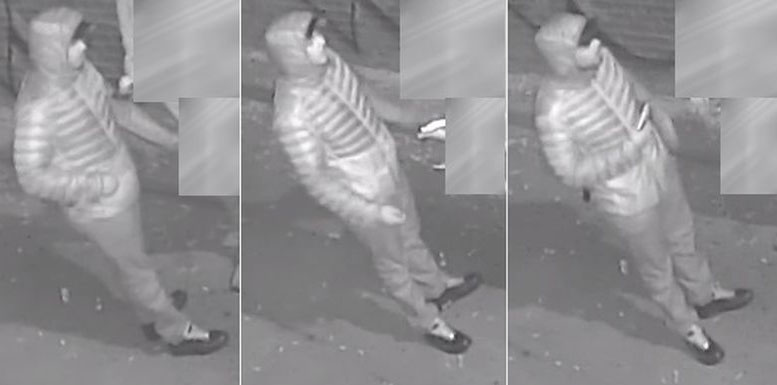 Security camera images of a man wanted in connection with a string of robberies in Toronto on Oct. 31, 2017. HANDOUT/Toronto Police Service