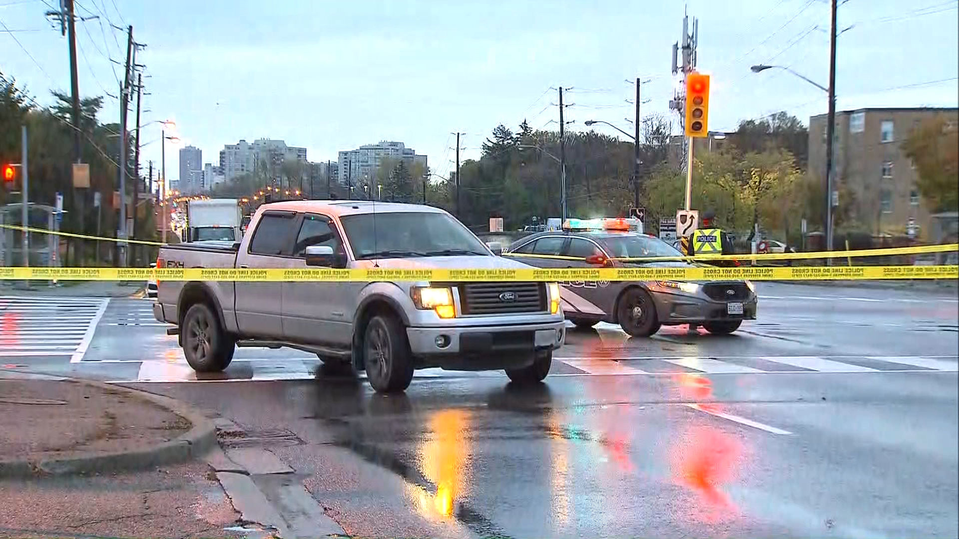 5 pedestrians, cyclist struck in separate collisions