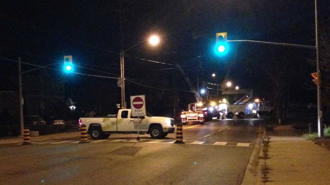 Toronto Car Accident Nov