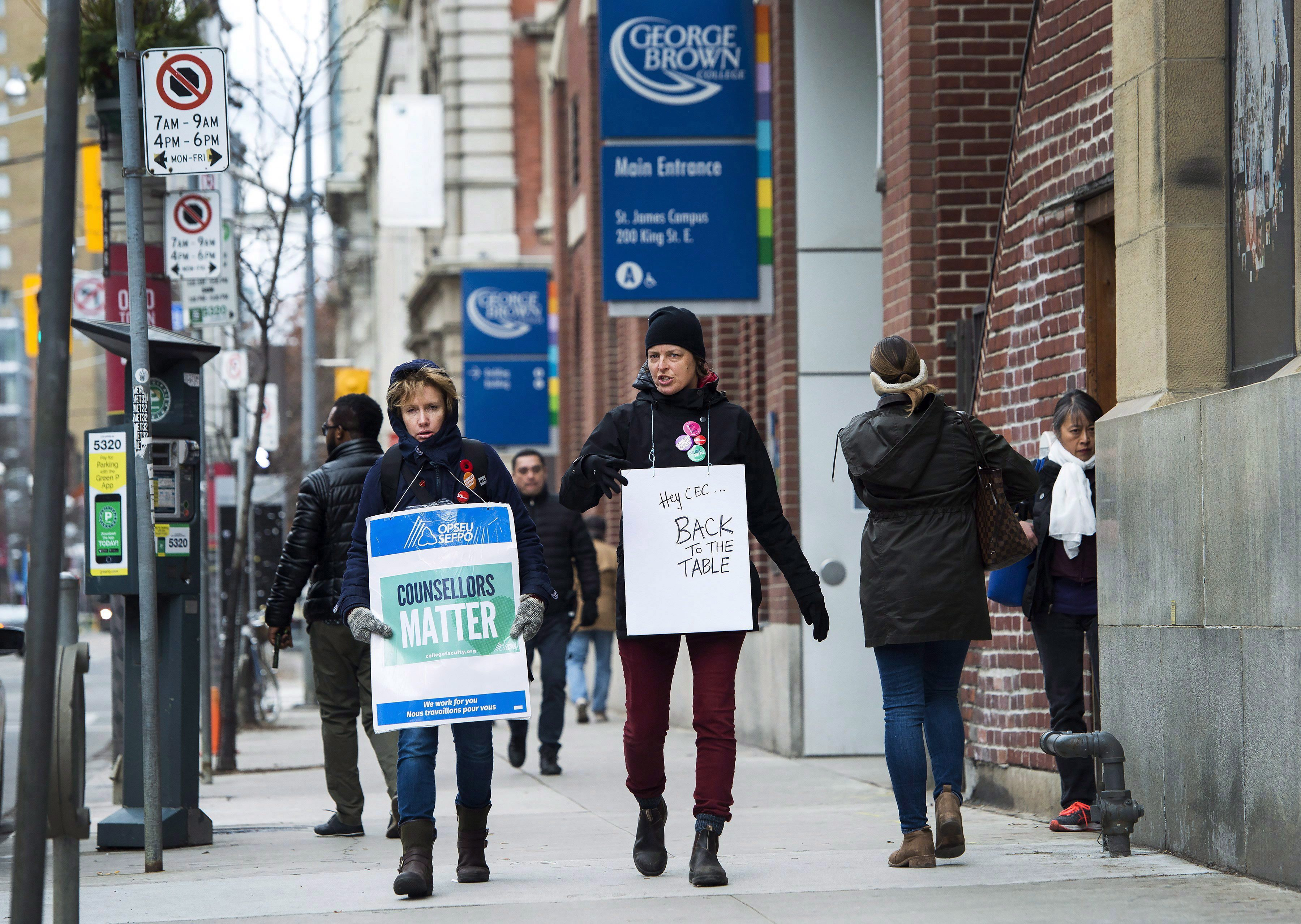 Faculty have rejected employer offer, college strike continues