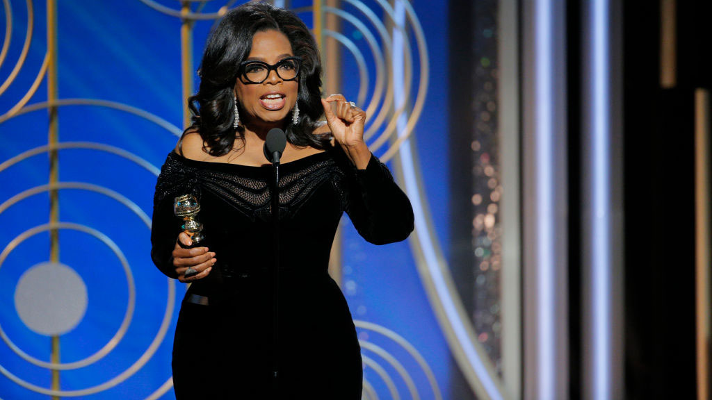 Oprah Winfrey Fights For Women's Rights In Powerful Golden Globes Speech