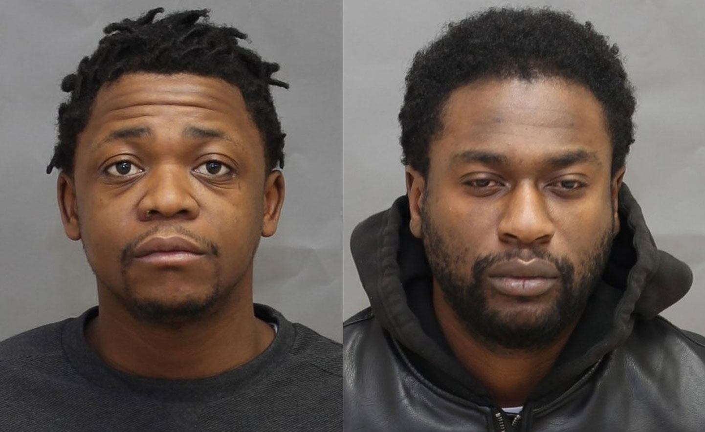 2 men arrested, accused of forcing woman into prostitution