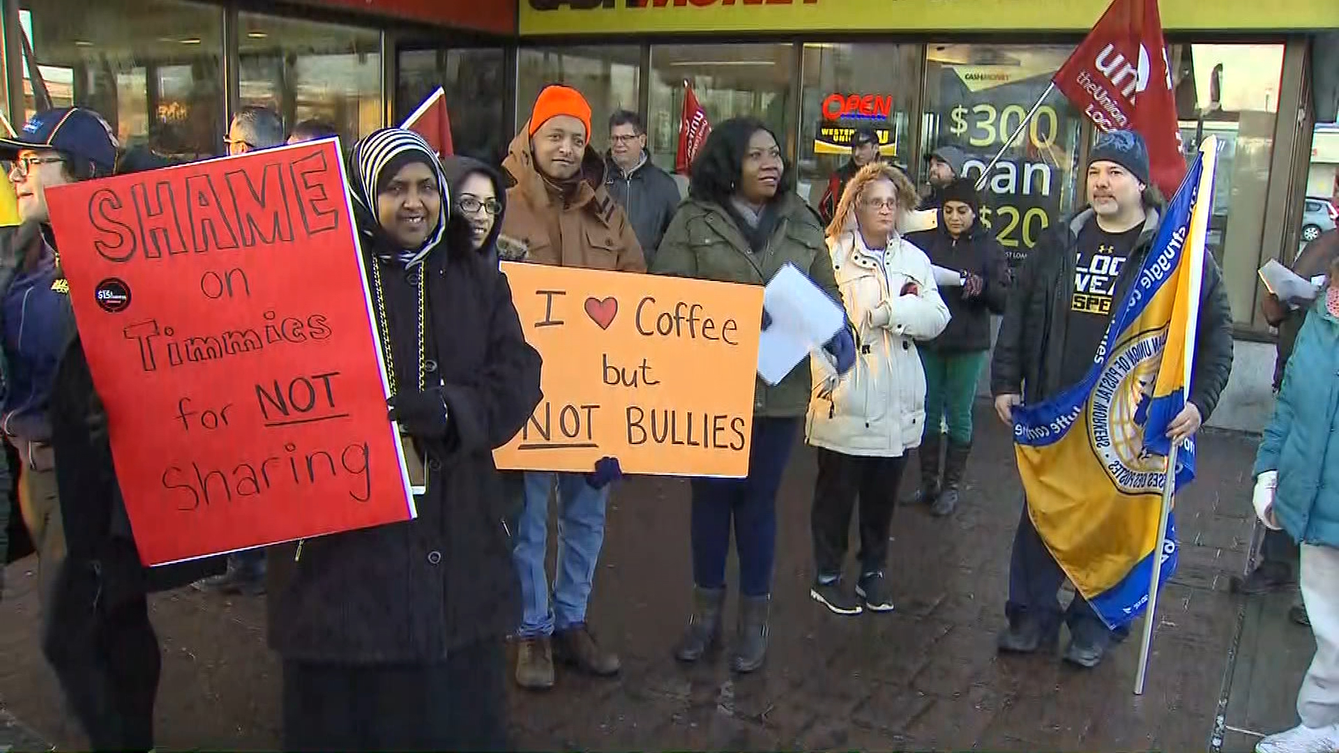 c5757fbdb03 Protests planned at Tim Hortons over cuts to paid breaks
