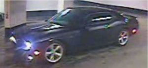 Security camera image of a suspect car in connection with a shooting on King Street near Bathurst Street on Jan. 11, 2018. Police released this photo on Jan. 15. HANDOUT/Toronto Police Service