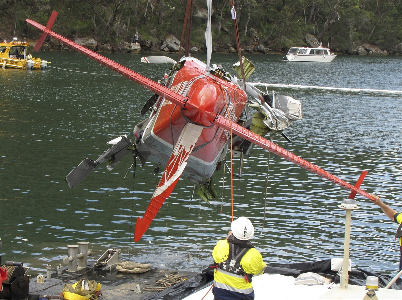 Sydney seaplane not on expected flight path before fatal crash
