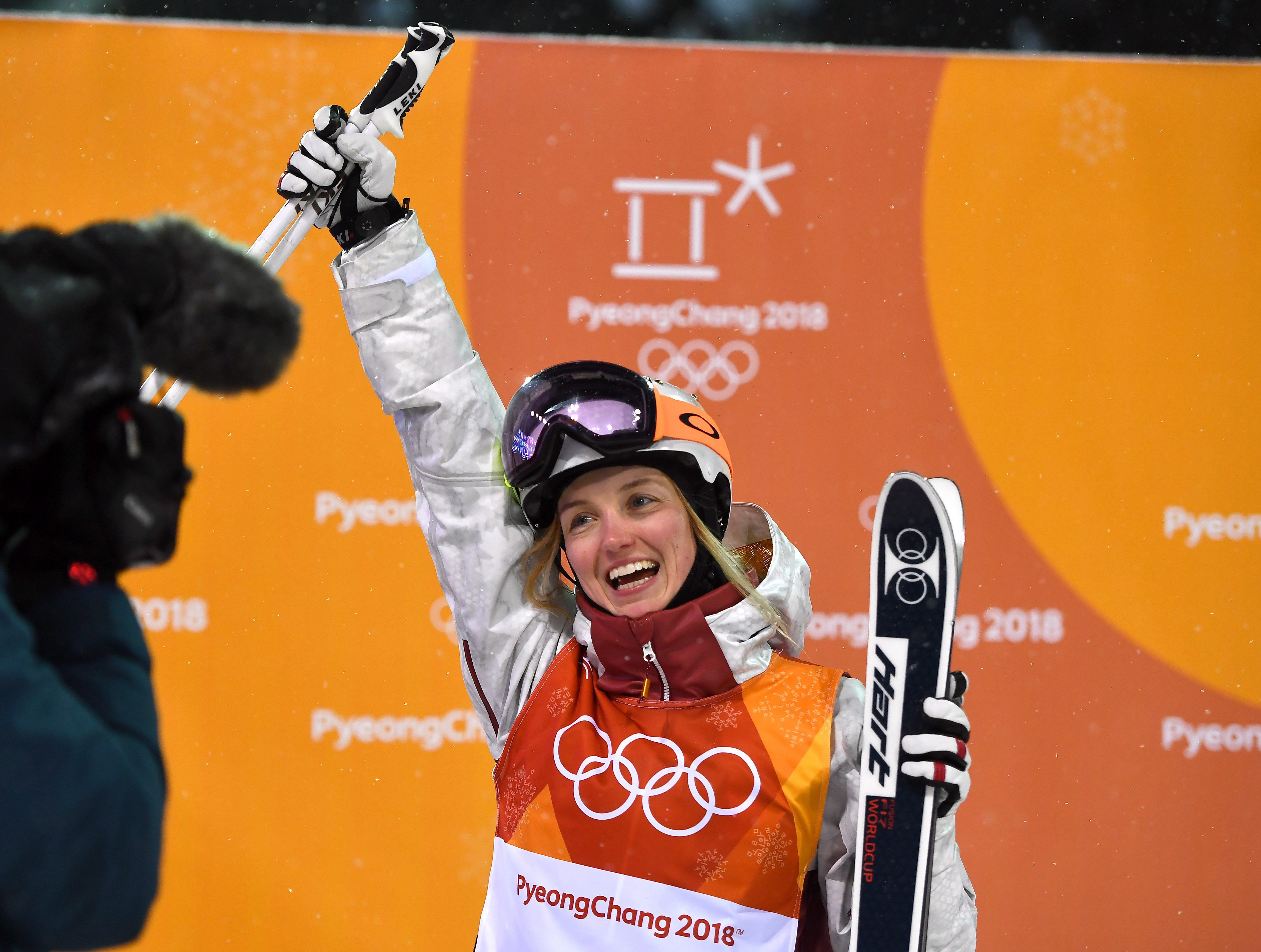 e07fb9d36dc Canada s Justine Dufour-Lapointe wins Olympic silver in women s moguls