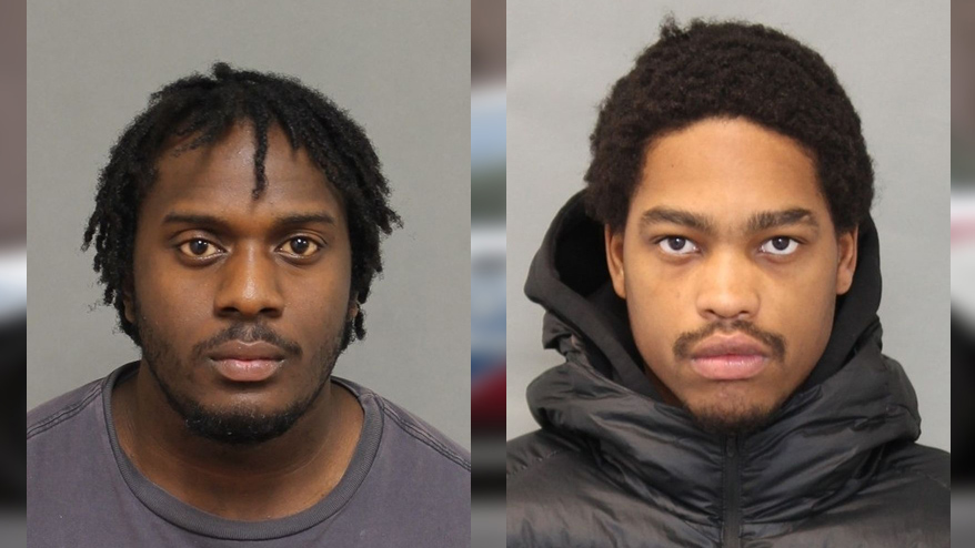 Dane Cato-Simpson, 22, and Jahdine Desir, 19, charged in human trafficking investigation, Feb. 12, 2018. HANDOUT/Toronto Police Service