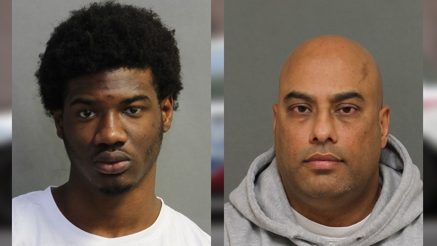 Tahje Tucker, 18, and Sukhminder Lota, 45, charged in human trafficking investigation, Feb. 12, 2018. HANDOUT/Toronto Police Service