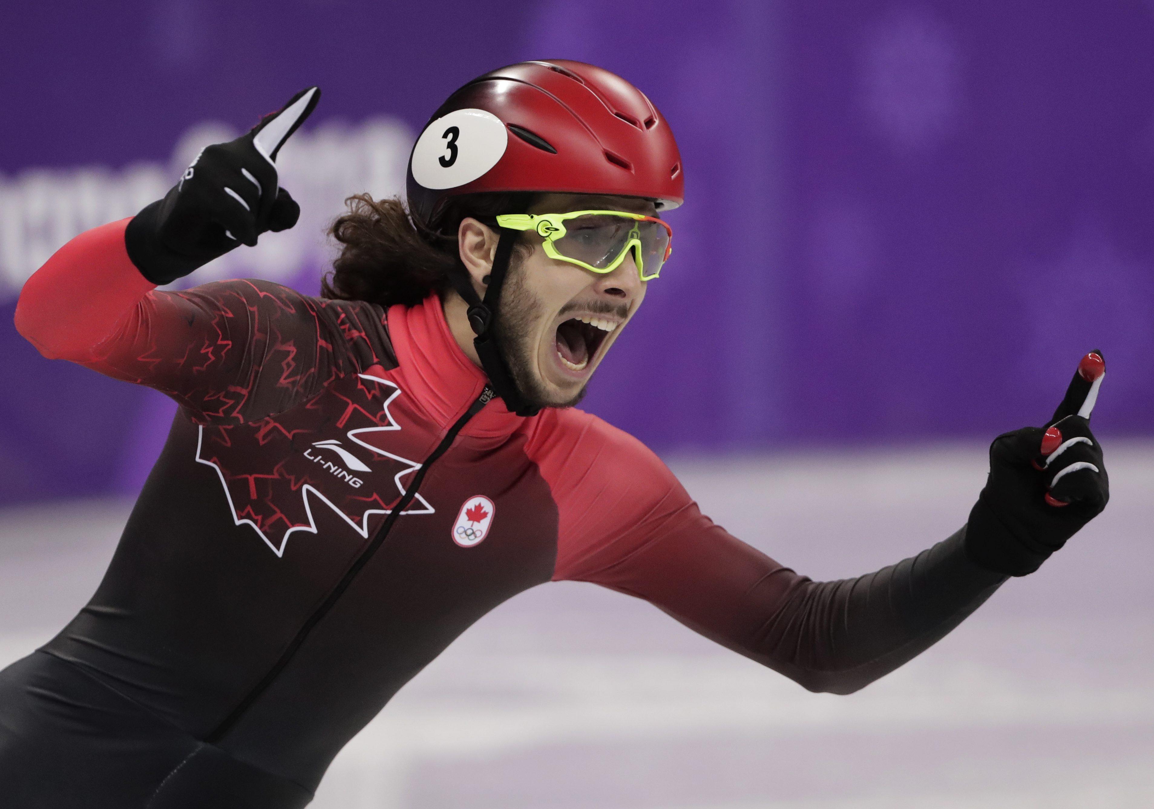 Winter Olympics results: Short track speed skating men's 1000m