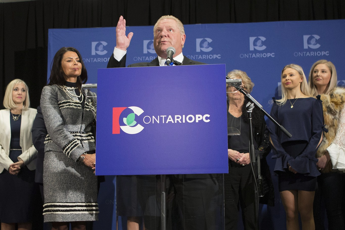 Ontario PC Party rally behind new leader