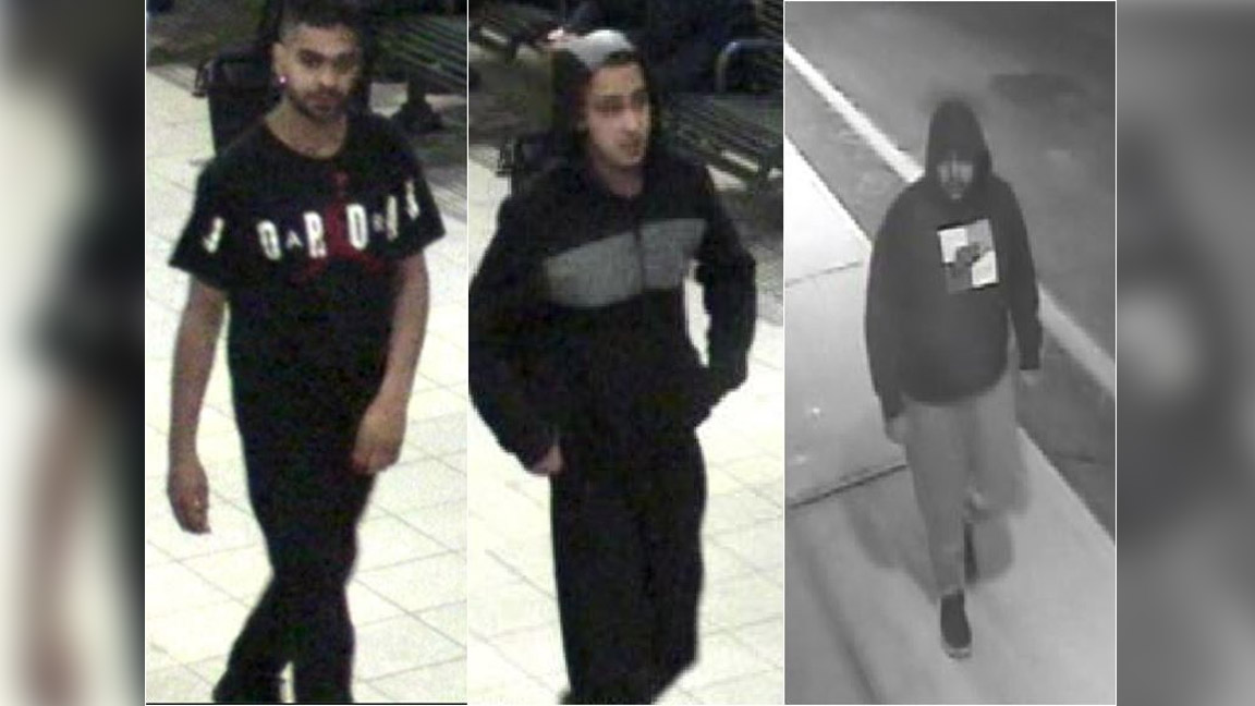 Police are looking for three South Asian men in connection with an assault on a man with autism in Mississauga on March 14, 2018. HANDOUT/Peel Regional Police