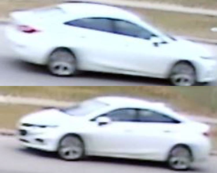 Stills from surveillance video show a car police believe is connected to a fatal shooting in Etobicoke on March 10, 2018. HANDOUT/Toronto Police Service