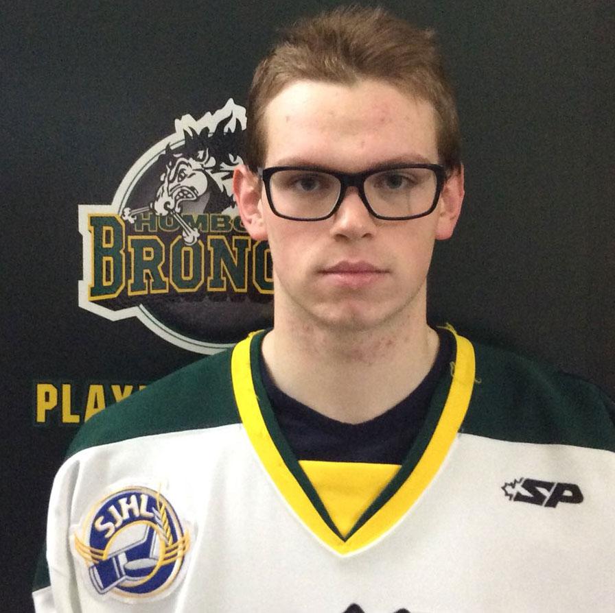 Parker Tobin. Photo credit: Saskatchewan Junior Hockey League (sjhl.ca)