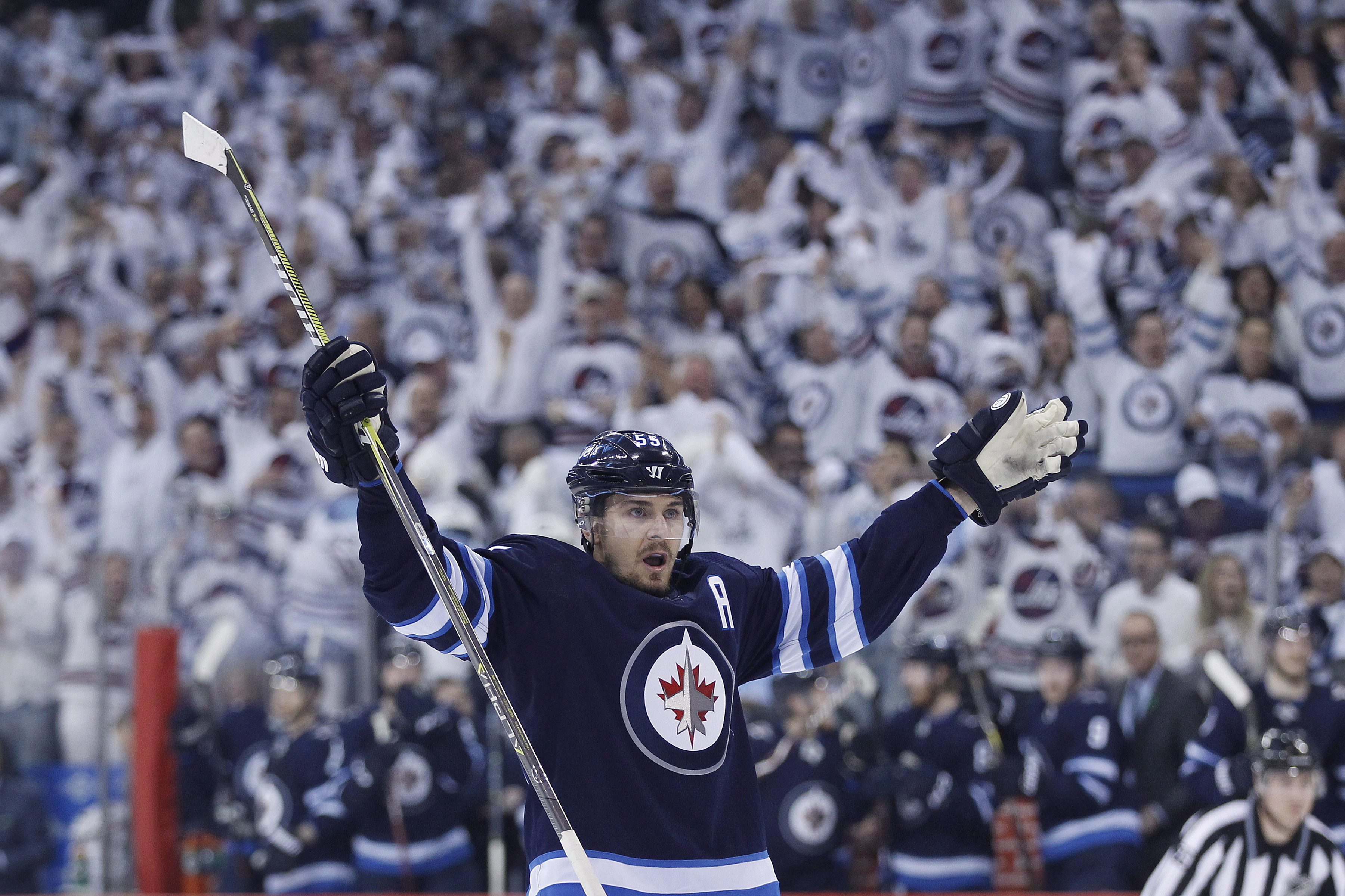 Joe Morrow Lifts Jets Over Wild In Game 1 Of Nhl Playoff Series Citynews Toronto
