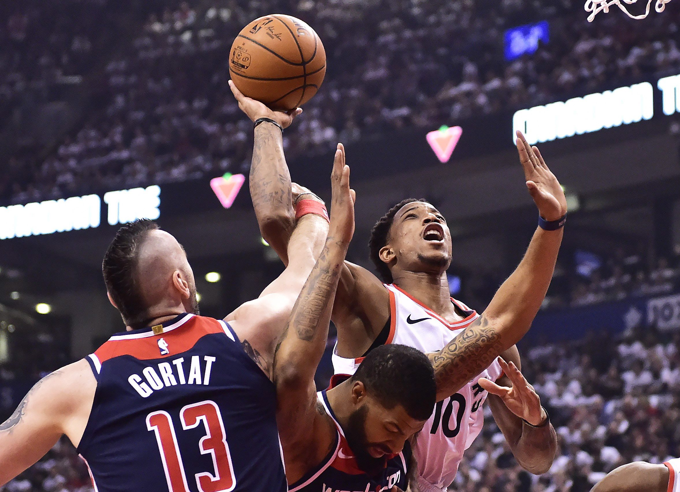 e950d2b04ba Raptors open NBA playoffs with win over Wizards