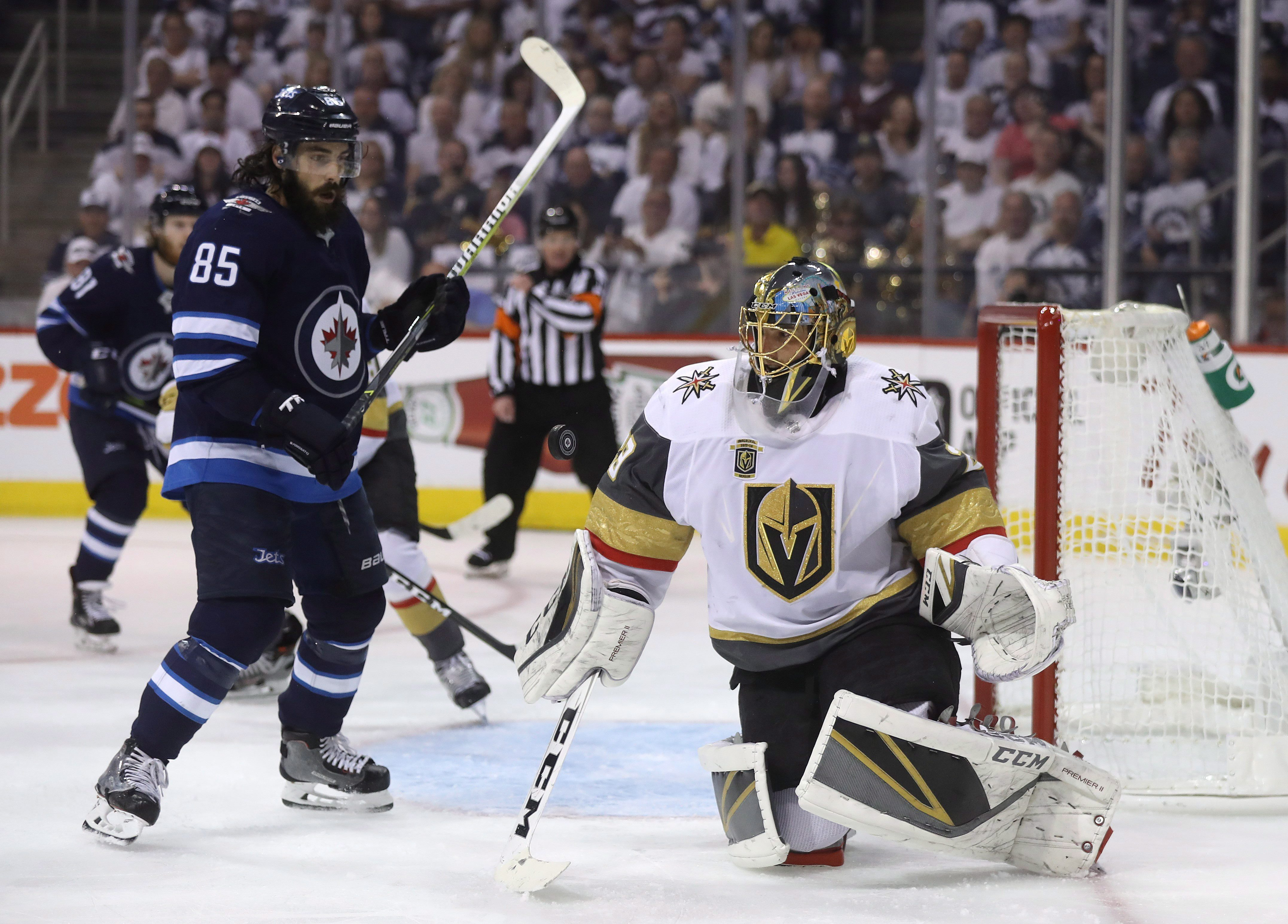 791e7d2ac Winnipeg Jets eliminated from NHL playoffs by expansion Vegas Golden Knights