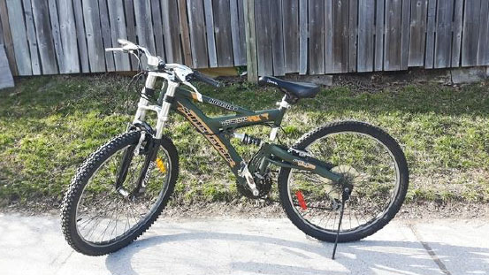 A photo of a bicycle similar to what the cyclist was riding when he was struck and killed by a vehicle in the Ninth Line and Bethesda Sideroad area of Whitchurch-Stouffville on May 22, 2018. HANDOUT/York Regional Police