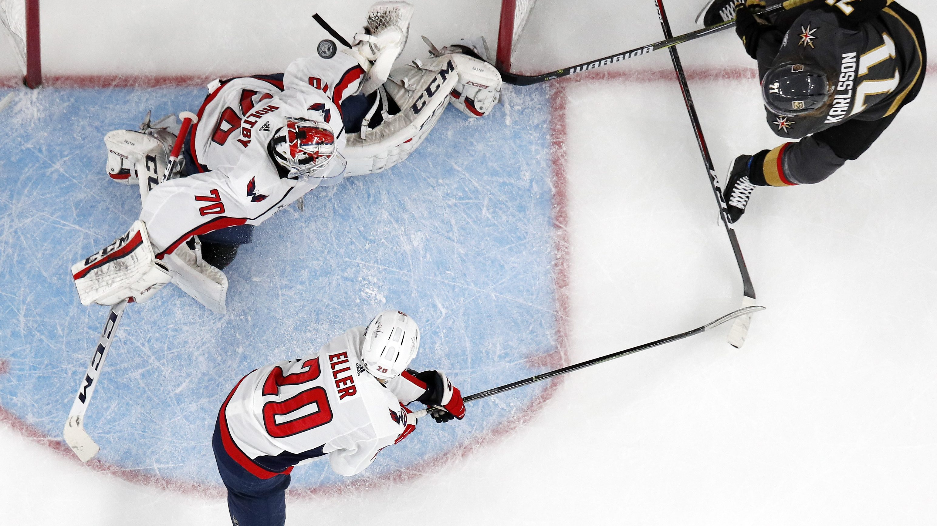 f60d7457316 Golden Knights top Capitals in Game 1 of Stanley Cup final
