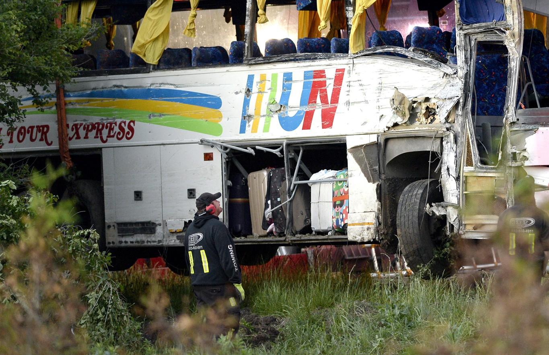 Third passenger dies following east Ontario bus crash