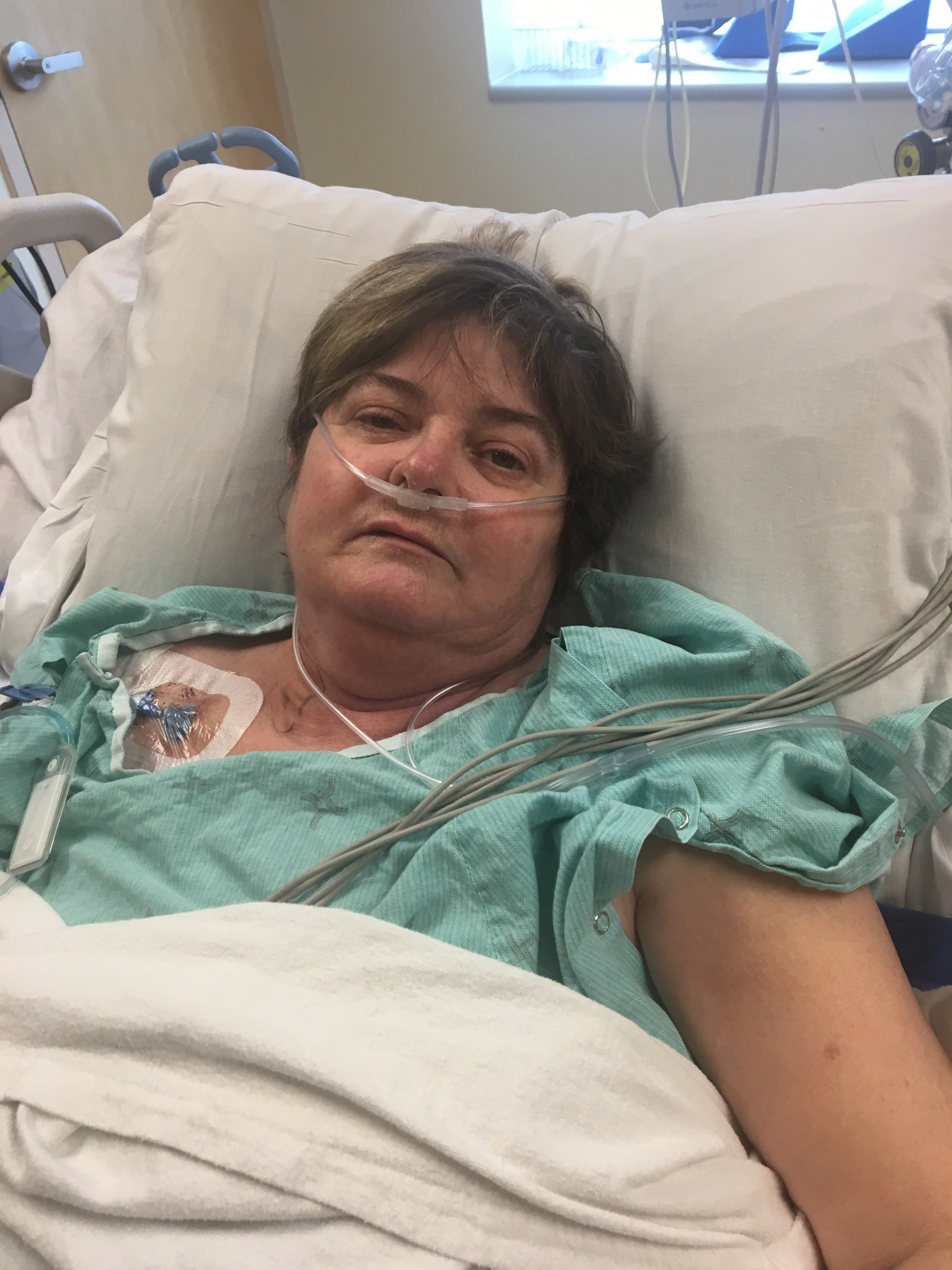 Lung transplant patient Eva Runciman, 52, of St. Thomas, Ont. is seen in an undated handout photo. THE CANADIAN PRESS/HO/Eva Runciman
