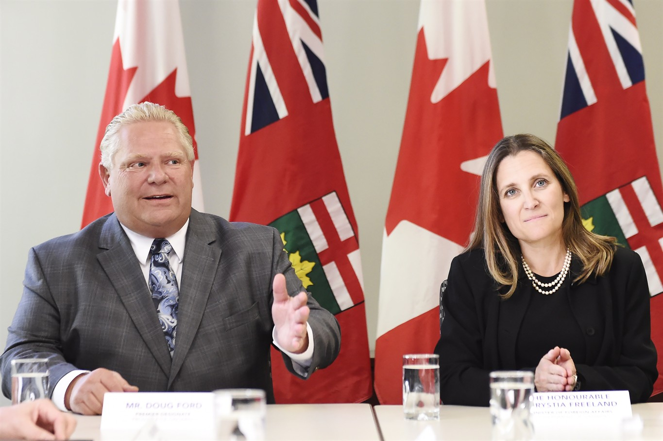 Doug Ford wants to abandon the
