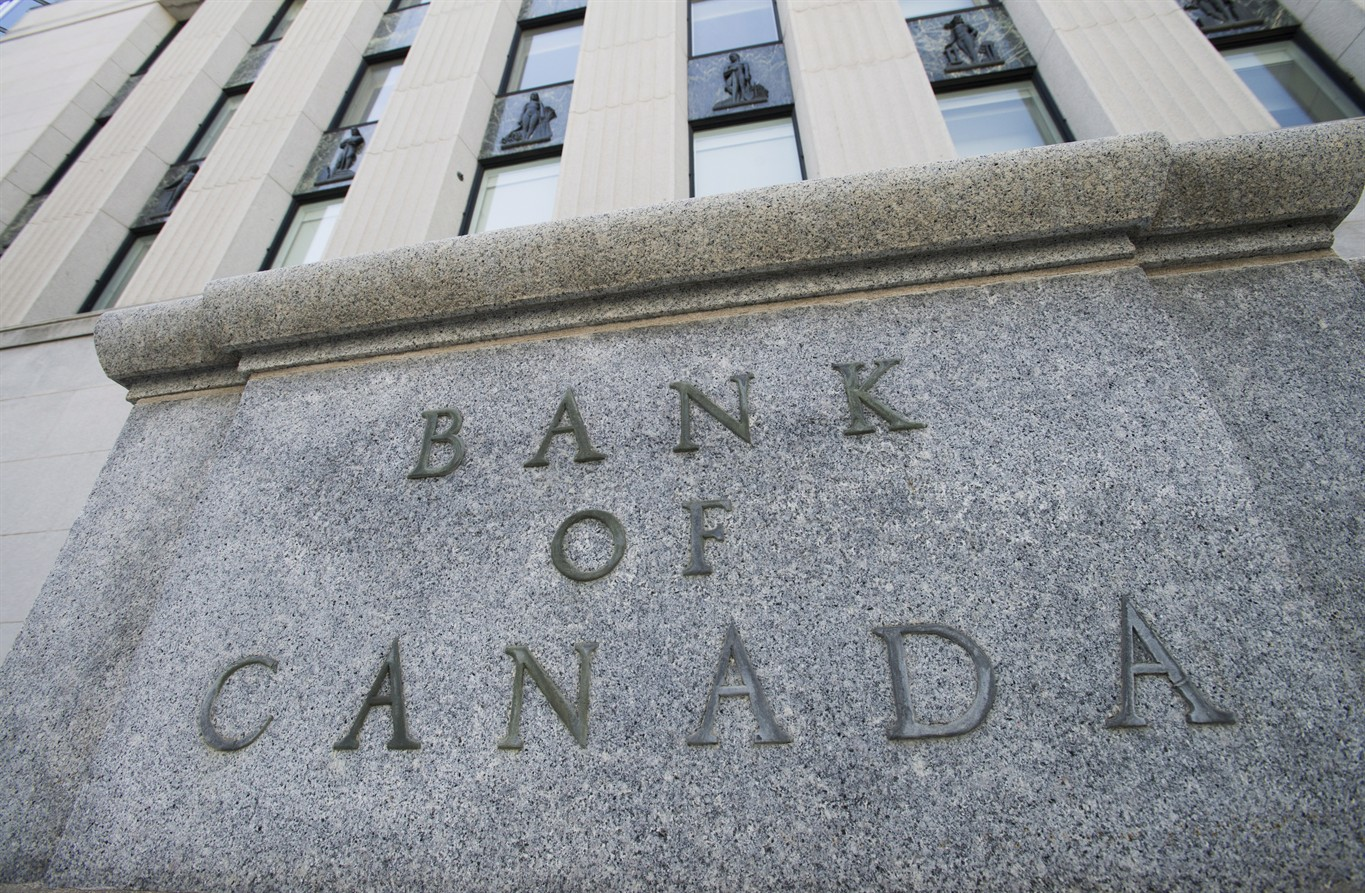 Bank of Canada raises overnight rate target to 1 ½ per cent
