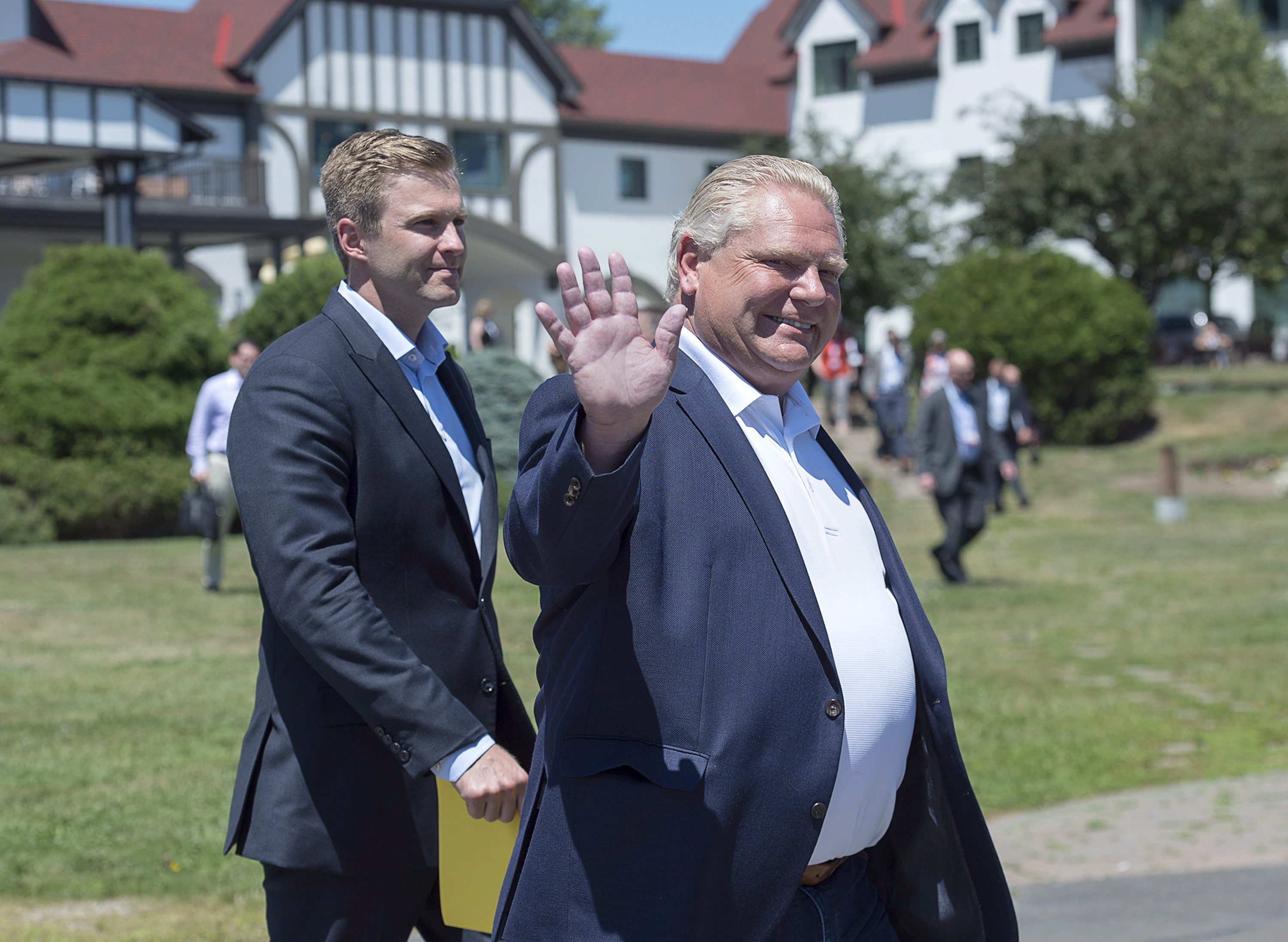 Moe, Ford join together to oppose federal carbon pricing at NB meeting