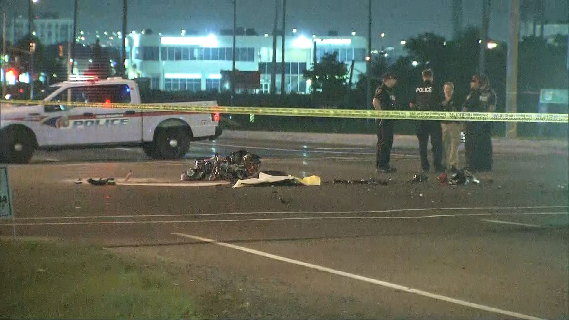 Motorcyclist killed in Vaughan crash