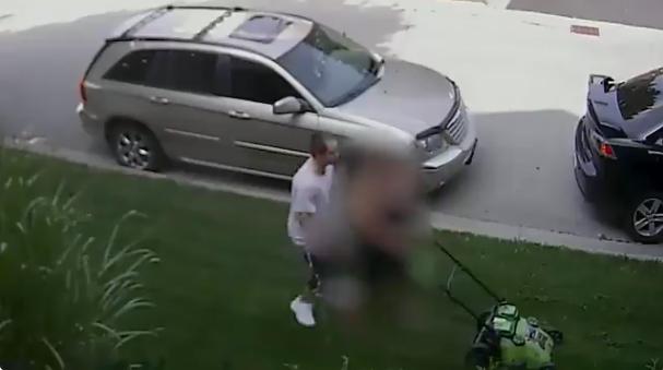 Video still of a sex assault suspect in Aurora on Aug. 11, 2018. HANDOUT/York Regional Police