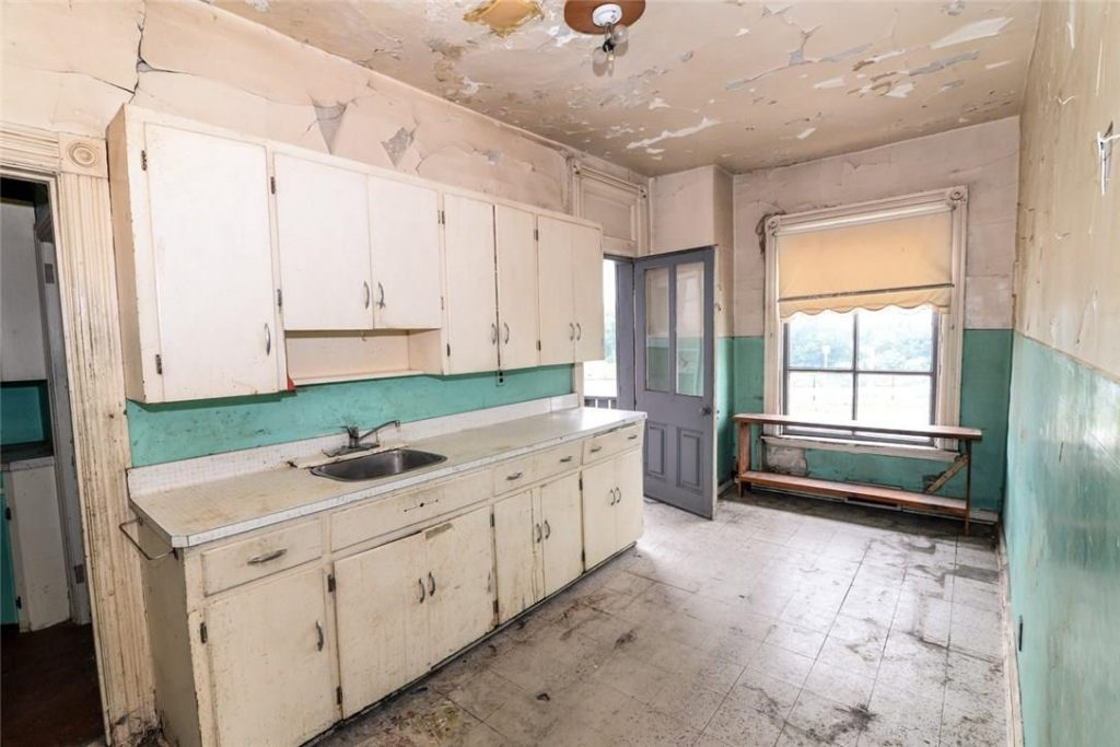 Image of the kitchen in a Hamilton home that is for sale, Aug. 23, 2018. Image credit: realtor.ca
