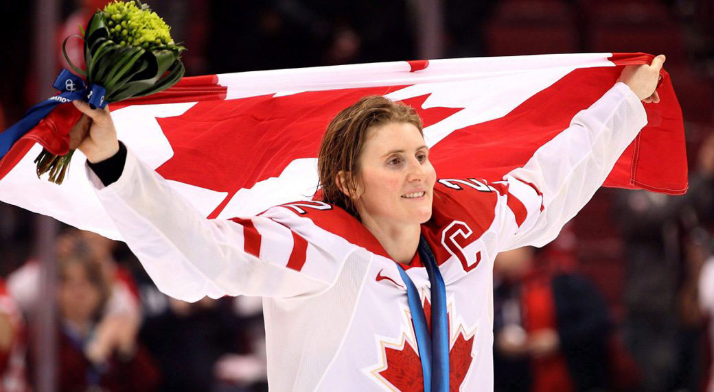 Hayley Wickenheiser 1 of 6 going into Hockey Hall of Fame