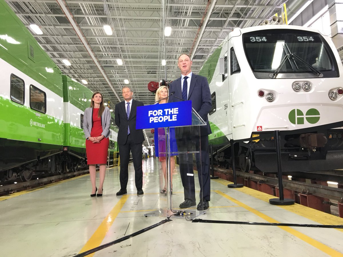 Ontario government announces expanded GO Transit service in GTHA