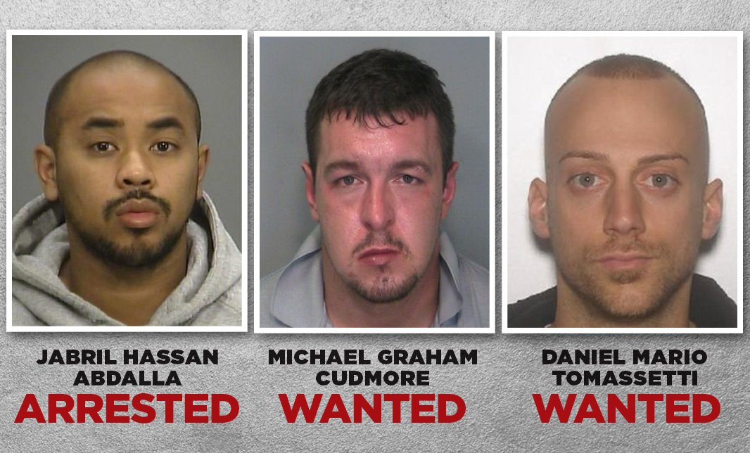 1 charged, 2 wanted in alleged mob hits in Hamilton