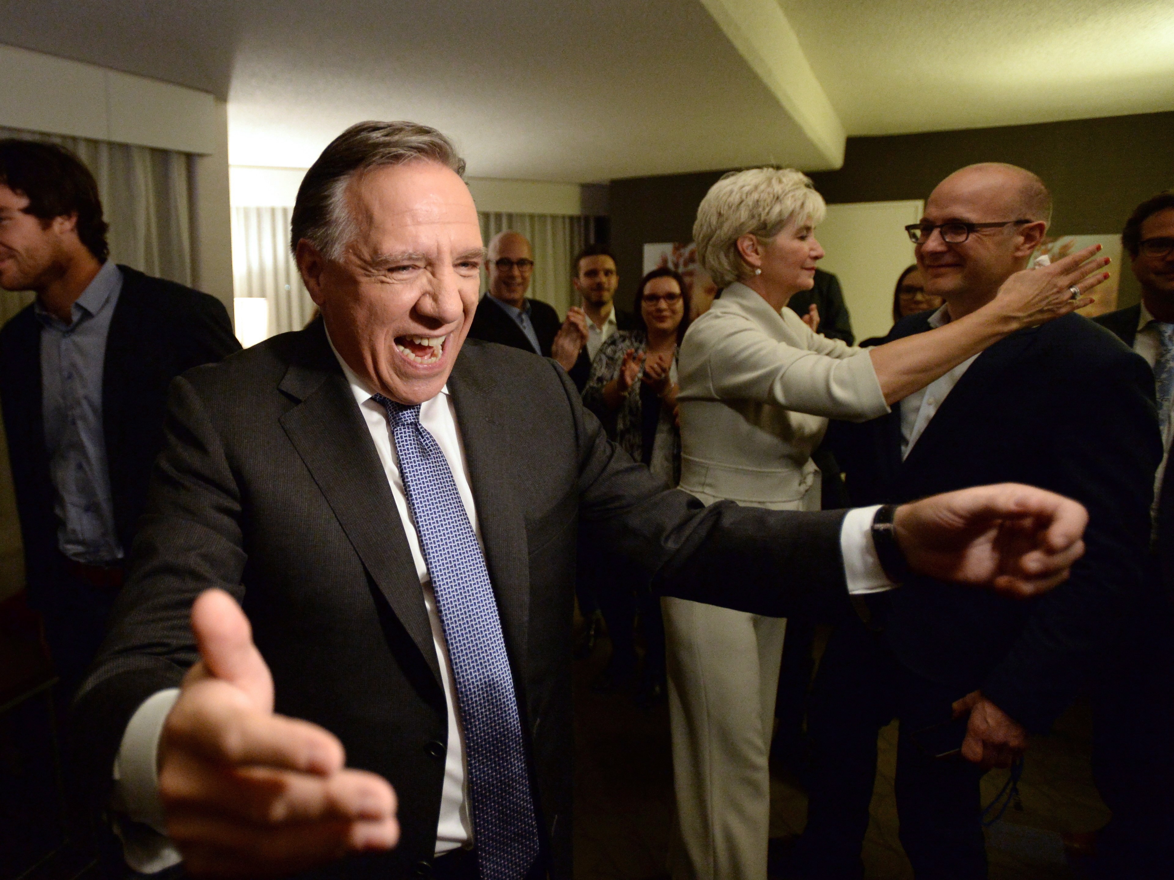 Five decades of two-party rule ends just ended in Quebec