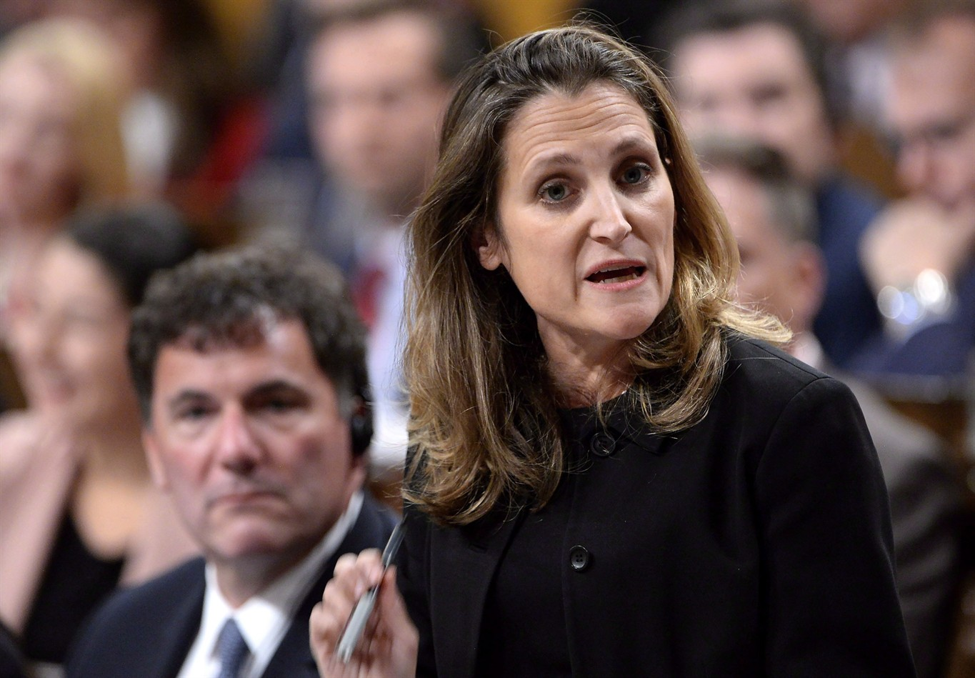 Canada, US call for 'immediate release' of two Canadians held