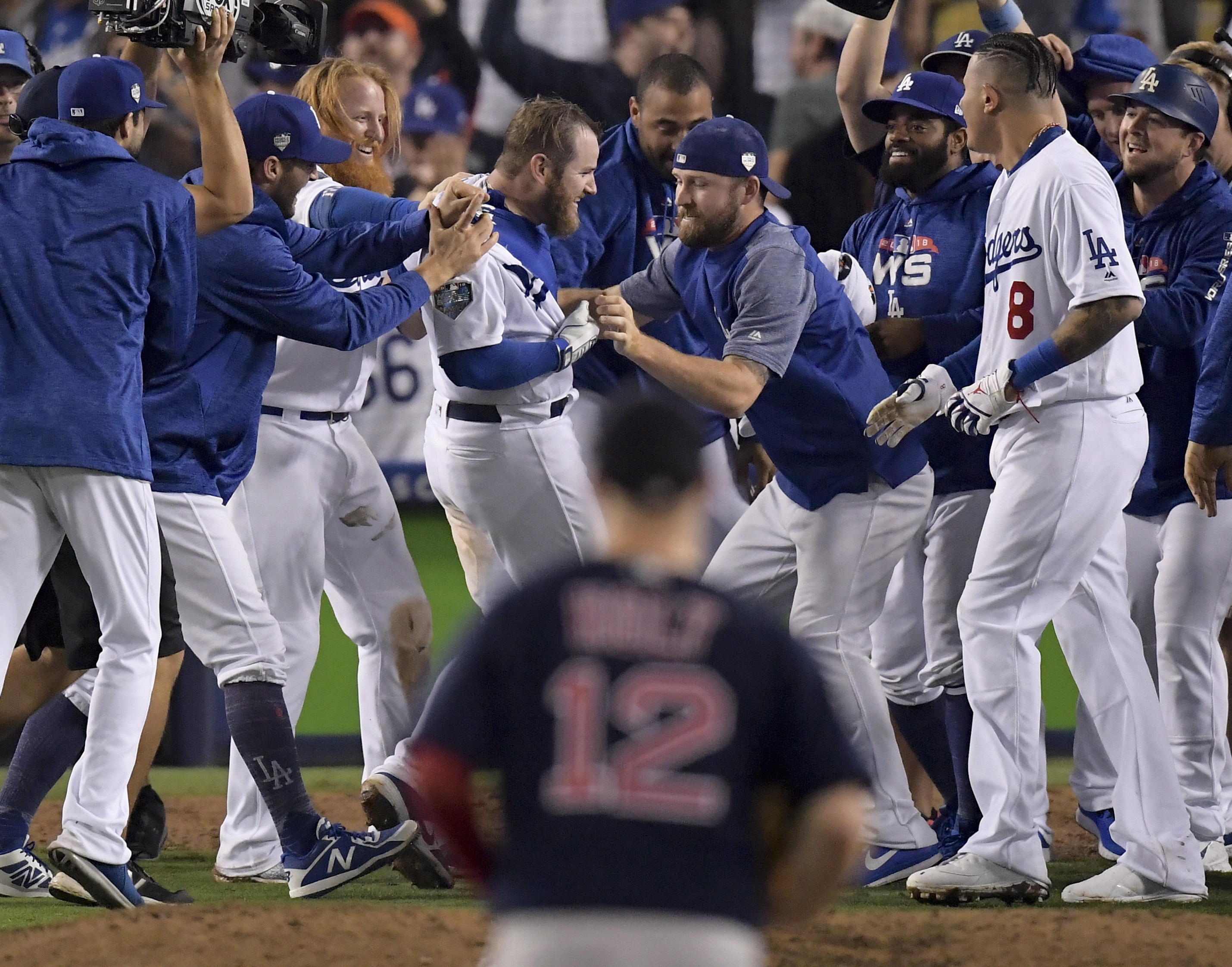 In longest World Series game, Dodgers outlast Red Sox in 18