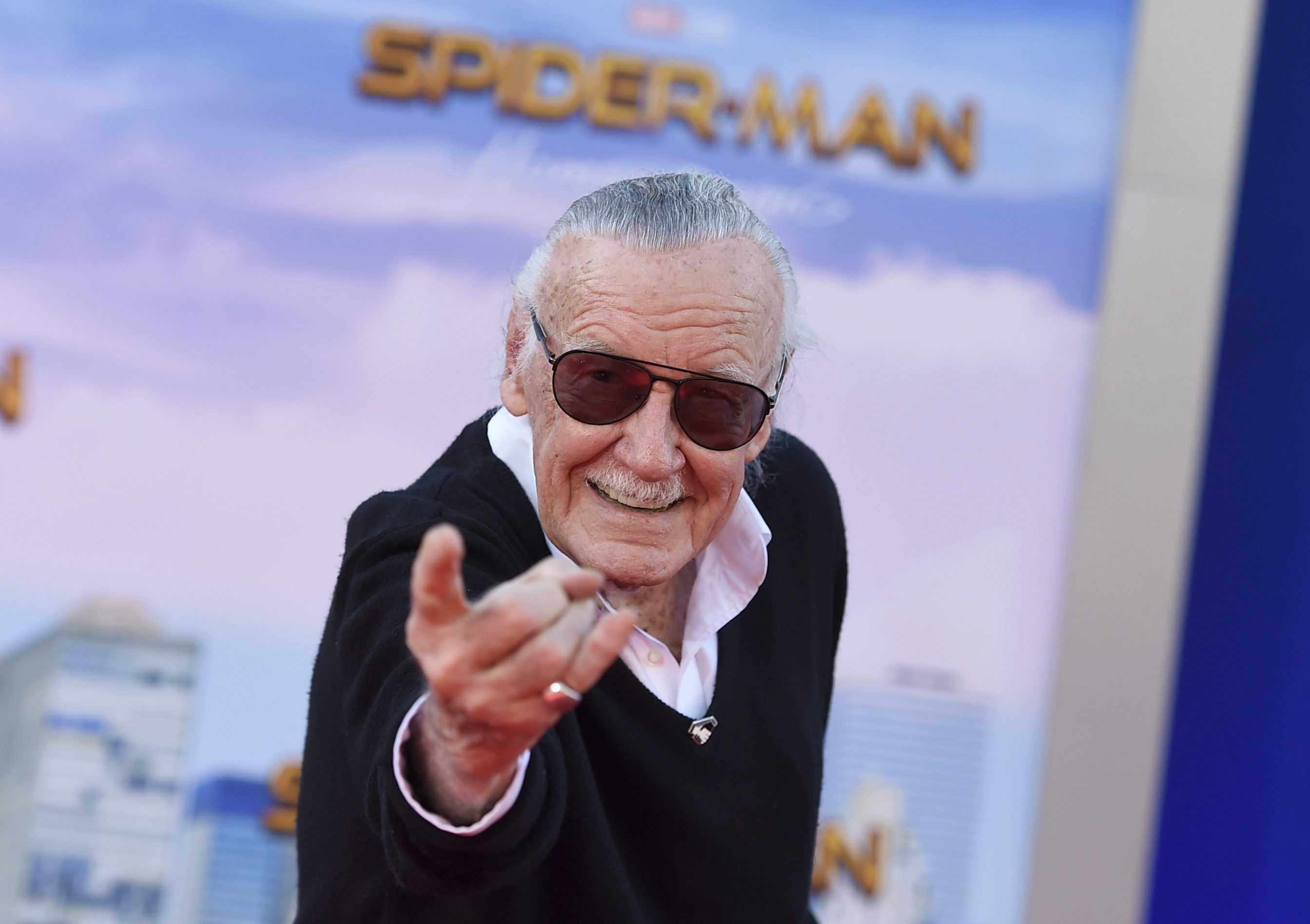 Stan Lee, the man who made superheroes fallible