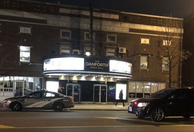 Three people injured in fight on stage at Danforth Music Hall