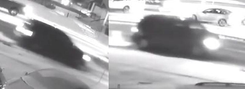 Images of the vehicle that police say fled the scene after a woman was hit at Danforth and Kennedy roads on Nov. 21, 2018. HANDOUT/Toronto Police Service